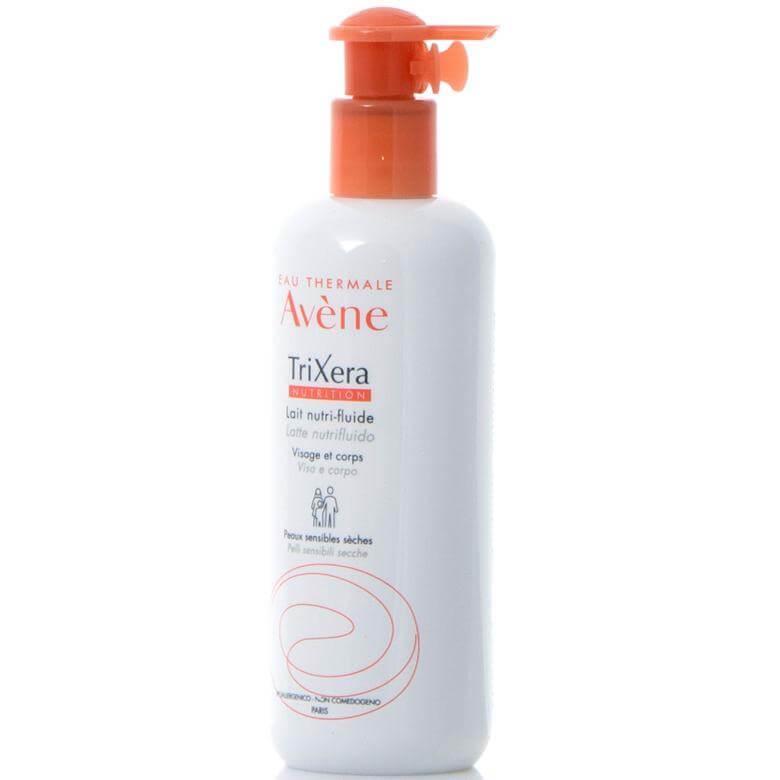 Avene Trixera Nutrition Lait Nutri-Fluide Λεπτόρρευστο Θρεπτικό Γαλάκτωμα για την Ενυδάτωση του Ευαίσθητου Ξηρού Δέρματος 400ml