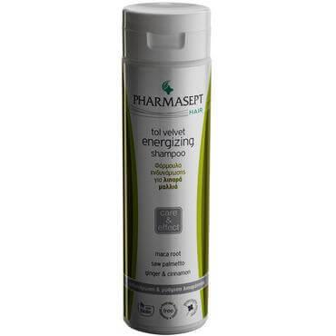 Pharmasept Tol velvet Energizing Shampoo Oily Δυναμωτικό Σαμπουάν για Λιπαρά Μαλλιά 250ml
