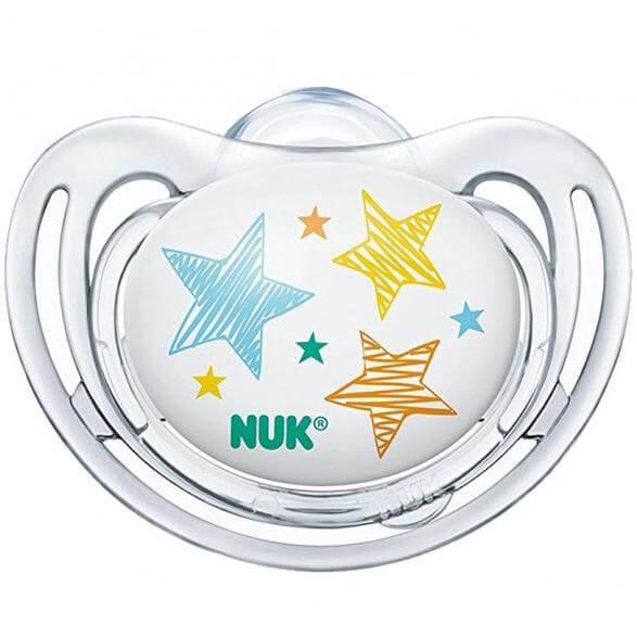 Nuk FreestyleΠιπίλα Σιλικόνης με Κρίκο Χωρίς BPA – Μέγεθος 3 (18-36 μηνών)