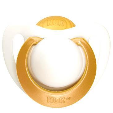Nuk Genius Orthodontic PlusΟρθοδοντική Πιπίλα Από Φυσικό Καουτσούκ με Κρίκο Χωρίς BPA – Μέγεθος 2 (6-18 μηνών)