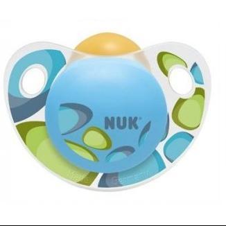 NUK Trendline Adore καουτσούκ χωρίς κρίκο, μεγέθη 1-3 – Μέγεθος 3 (18-36 μηνών)