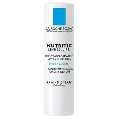 La Roche-Posay Nutritic Lips Φροντίδα Αποκατάστασης Για Πολύ Ξηρά Χείλη 4.7ml