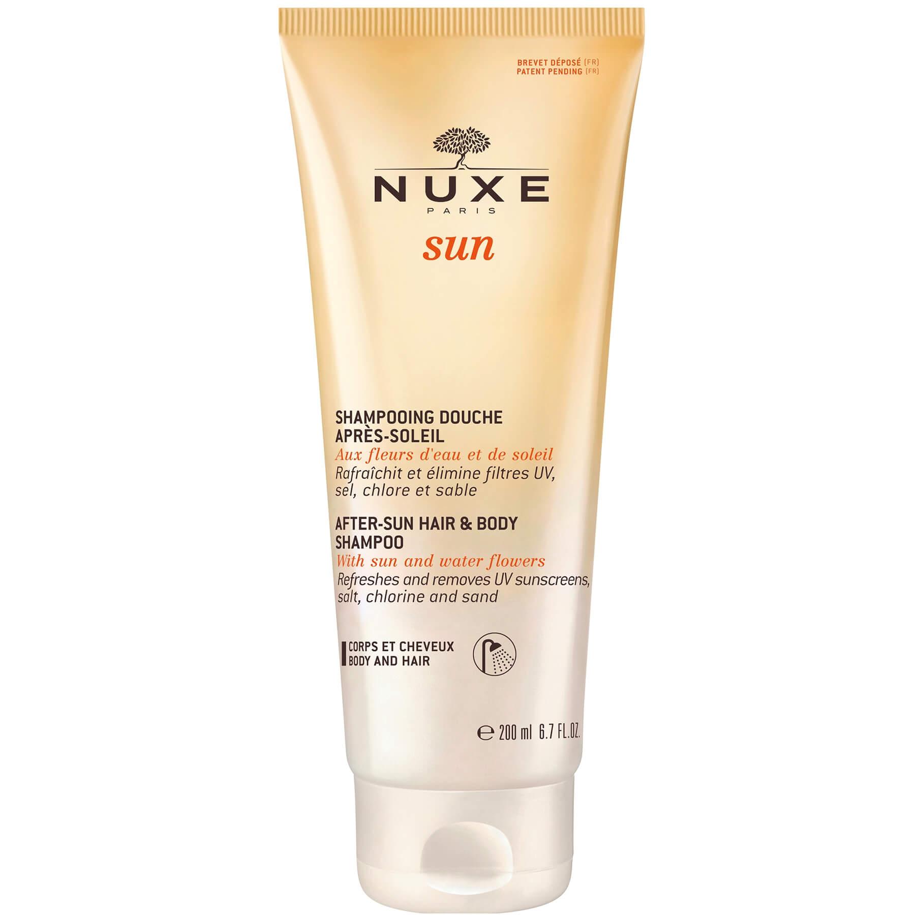 Nuxe Sun After-Sun Hair & Body Shampoo Σαμπουάν – Αφρόλουτρο για Μετά τον Ήλιο200ml
