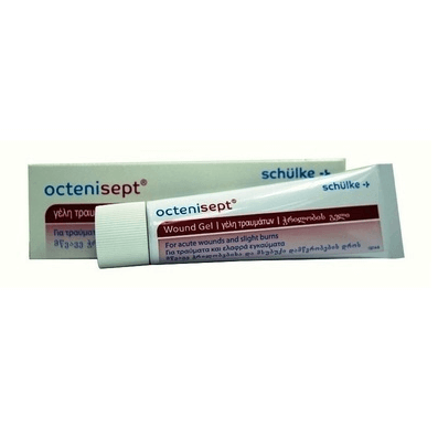 Octenisept Wound Gel Γέλη για τραύματα 20ml φαρμακείο   αυτοθεραπεία   τραύματα ουλές εγκαύματα
