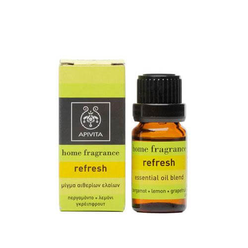 Apivita Essential oil Refresh Με Περγαμόντο & Λεμόνι 10ml