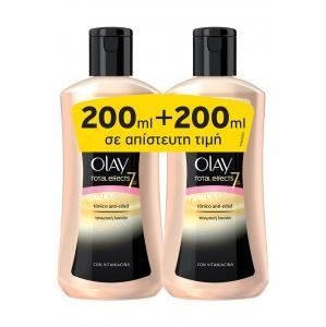 Olay Total Effects 7 Αντιγηραντική Λοσιόν 2x200ml