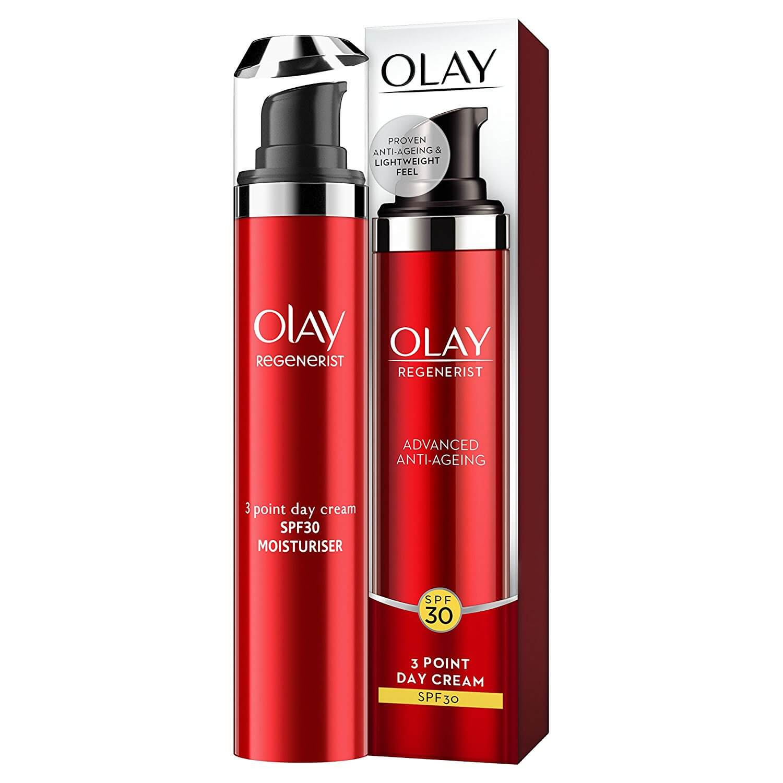 Olay Regenerist 3 Point Anti-Ageing Day Cream Spf30 Αντιγηραντική Κρέμα Ημέρας με Αντηλιακή Προστασία 50ml