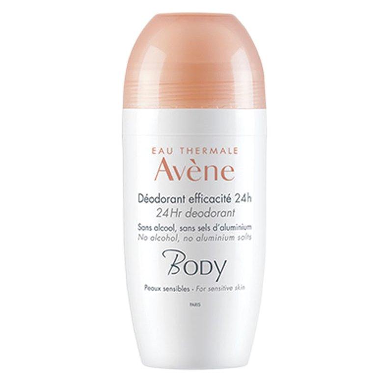 Avene Body Deodorant Roll-On Efficacite 24h Αποσμητικό για 24ωρη Αποτελεσματικότητα 50ml