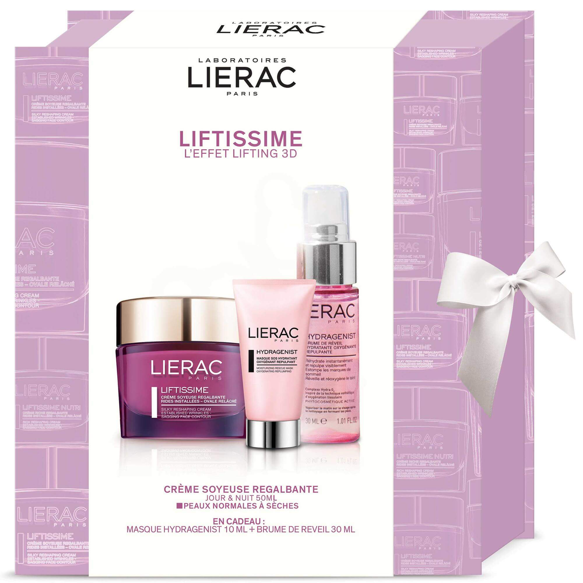 Lierac Πακέτο Προσφοράς Liftissime Creme Soyeuse 50ml & Δώρο Hydragenist Masque 10ml & Brume de Reveil 30ml