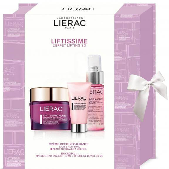 Lierac Πακέτο Προσφοράς Liftissime Nutri Creme Riche 50ml & Δώρο Hydragenist Masque 10ml & Brume de Reveil 30ml