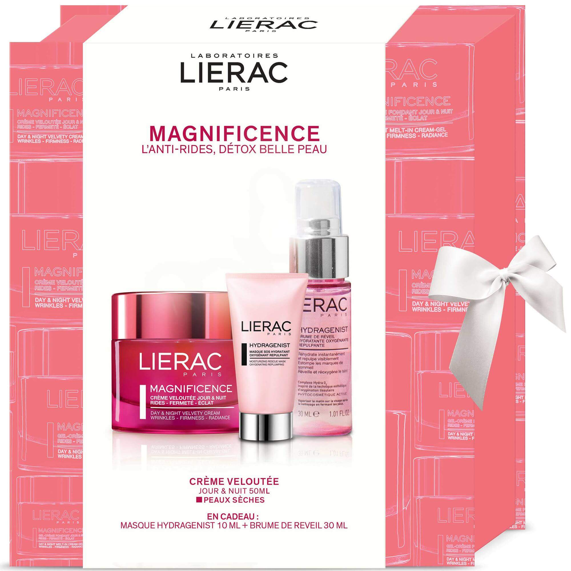 Lierac Πακέτο Προσφοράς Magnificence Creme Veloutee Jour & Nuit 50ml & Δώρο Hydragenist Masque 10ml & Brume de Reveil 30ml
