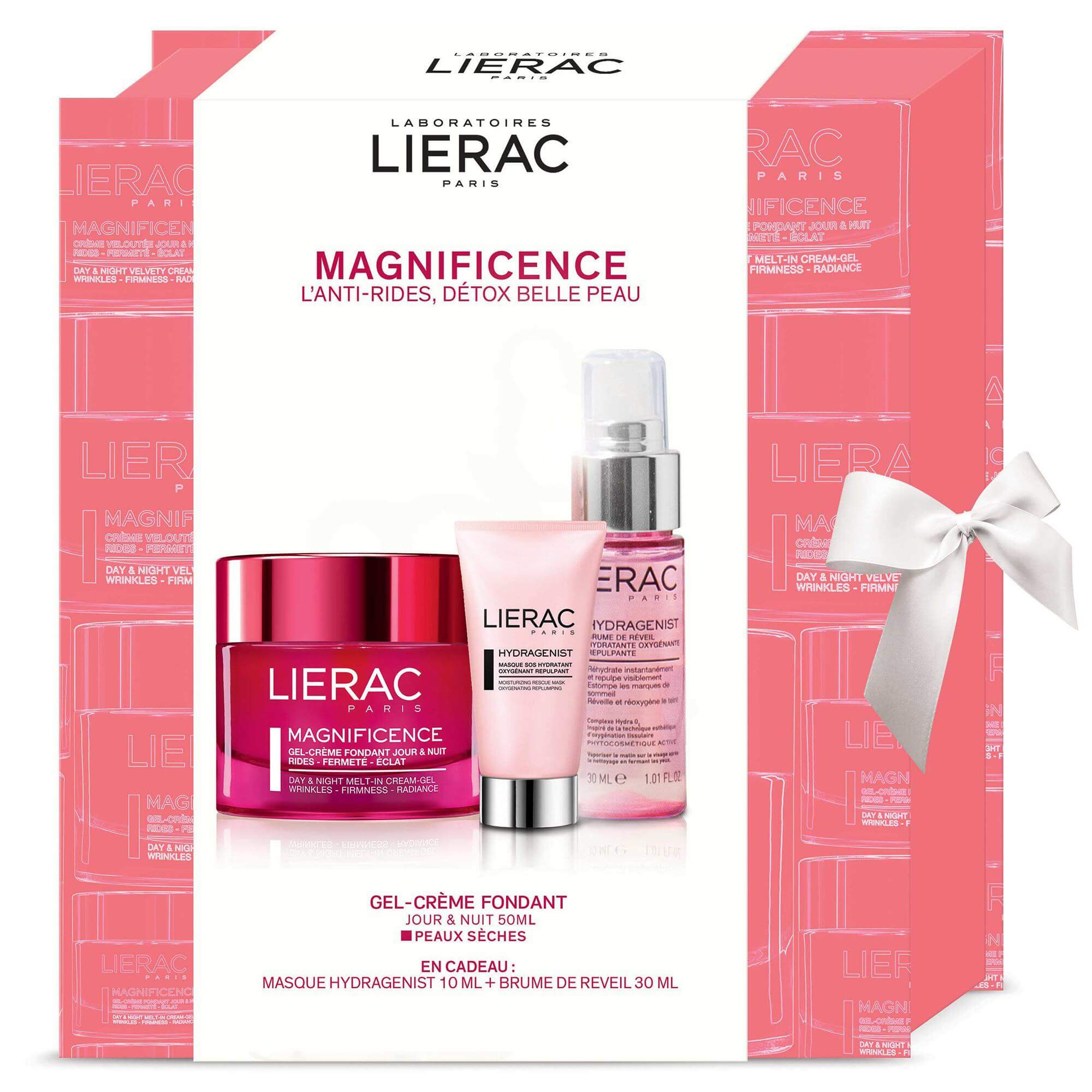 Lierac Πακέτο Προσφοράς Magnificence Gel-Creme Fondant Jour & Nuit 50ml & Δώρο Hydragenist Masque 10ml & Brume de Reveil 30ml