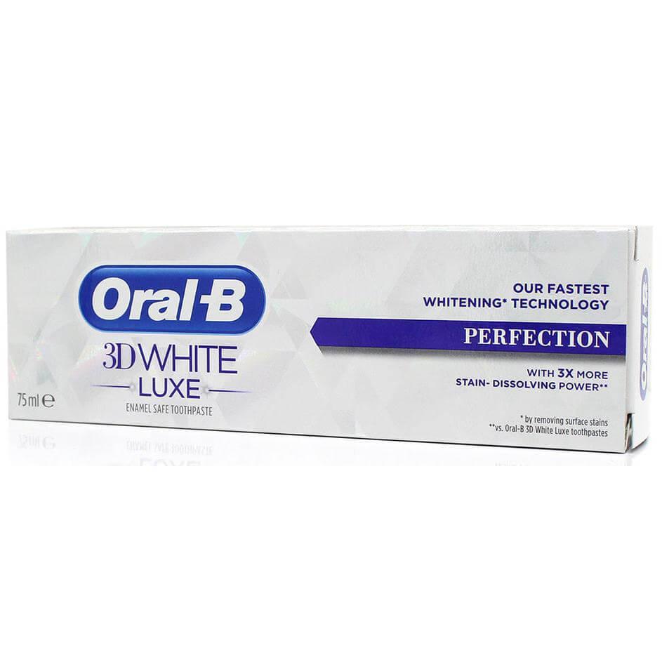 Oral b 3D White Luxe Perfection Οδοντόκρεμα Απαλή με το Σμάλτο 75ml