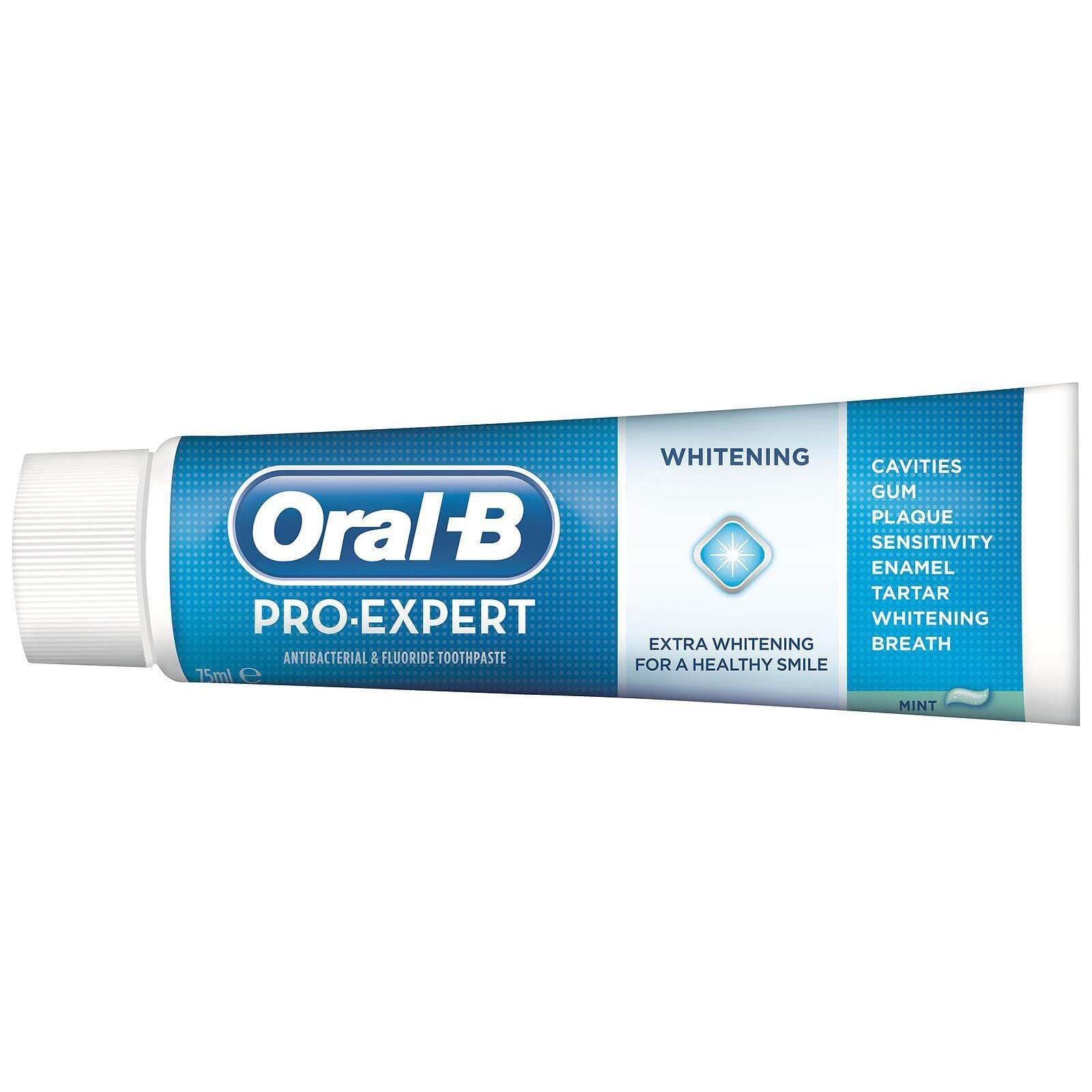 Oral B Pro Expert Healty White Οδοντόκρεμα για Έξτρα Λεύκανση & Υγιές Χαμόγελο 75ml