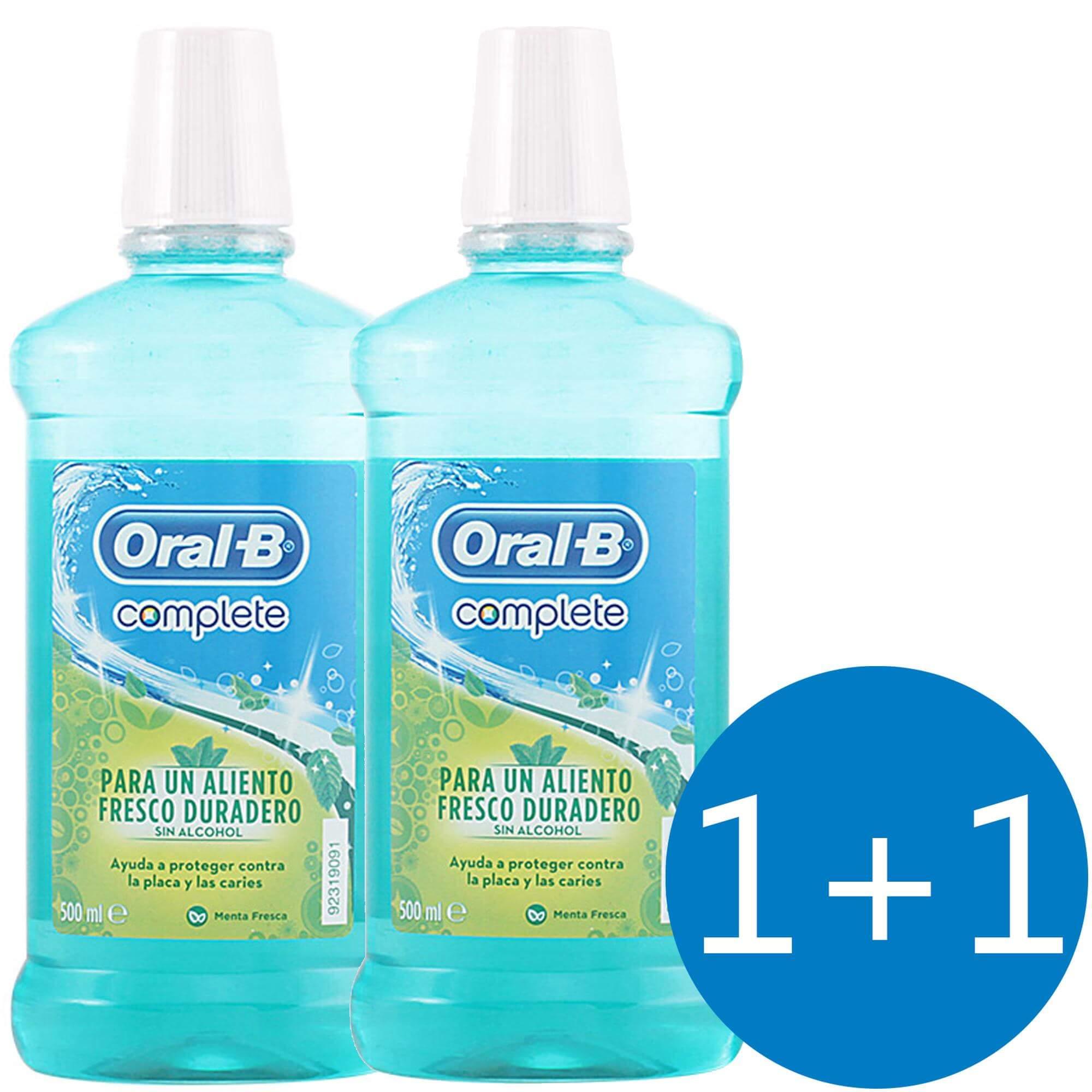 Oral-B Πακέτο Προσφοράς Complete Στοματικό Διάλυμα 500ml 1+1 Δώρο