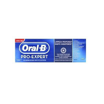 Oral-B Pro-Expert Βαθύς Kαθαρισμός Οδοντόκρεμα 75ml