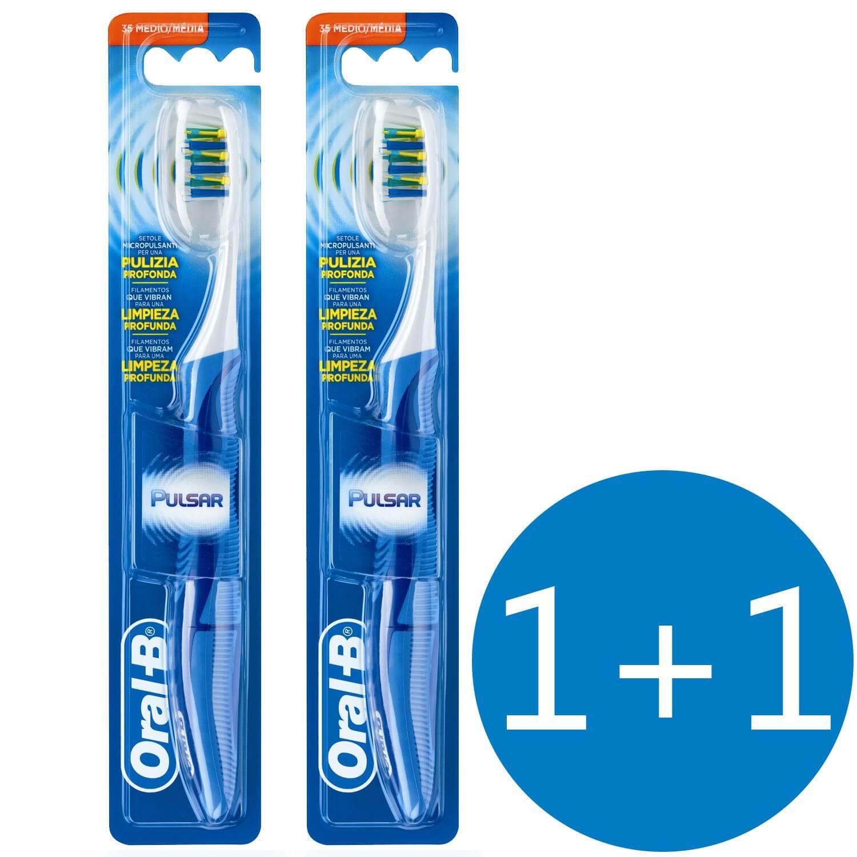 Oral-B Πακέτο Προσφοράς Pro-Expert Pulsar Οδοντόβουρτσα 35 Μέτρια 1+1 Δώρο