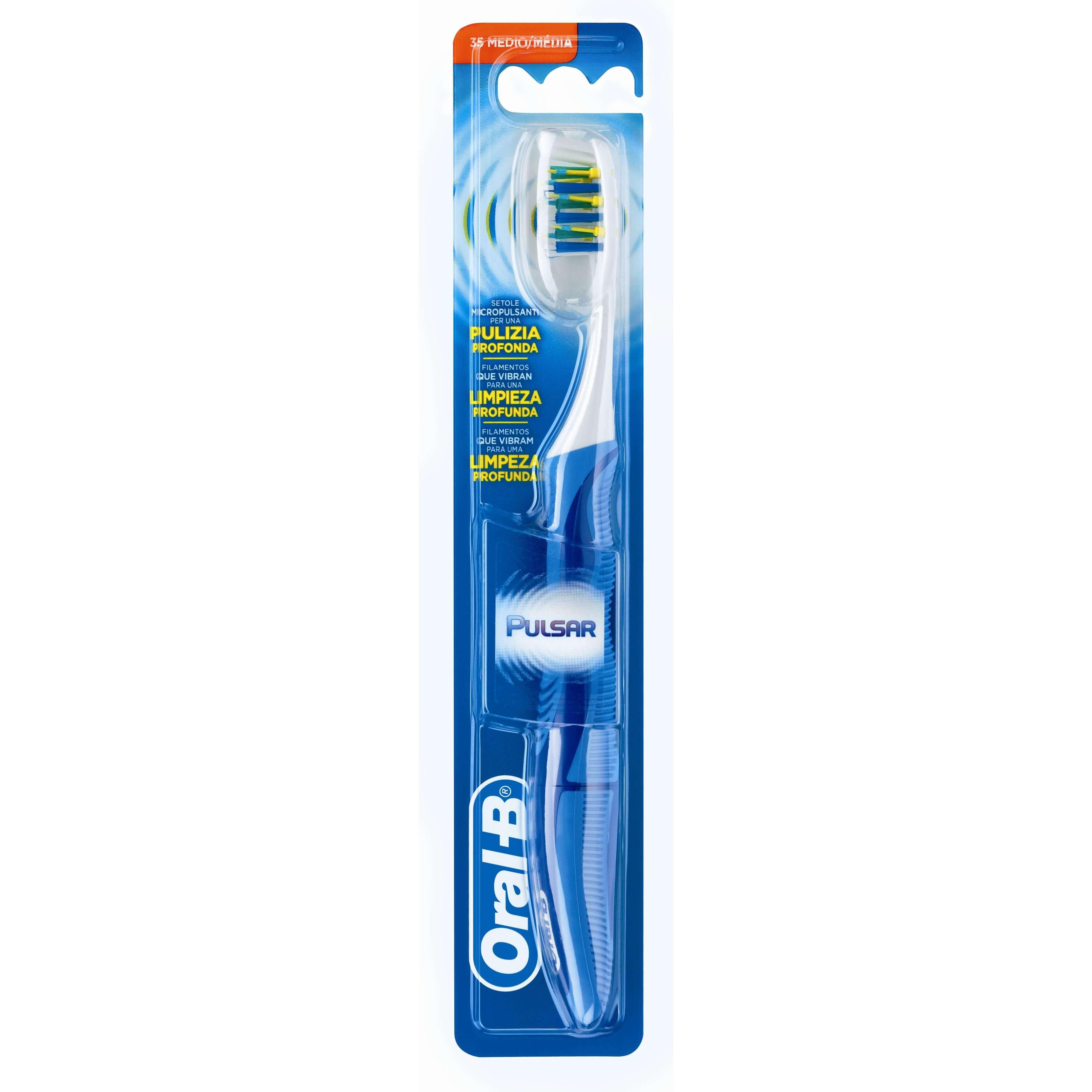 Οδοντόβουρτσα Oral-B Pro-Expert Pulsar 35 Μέτρια