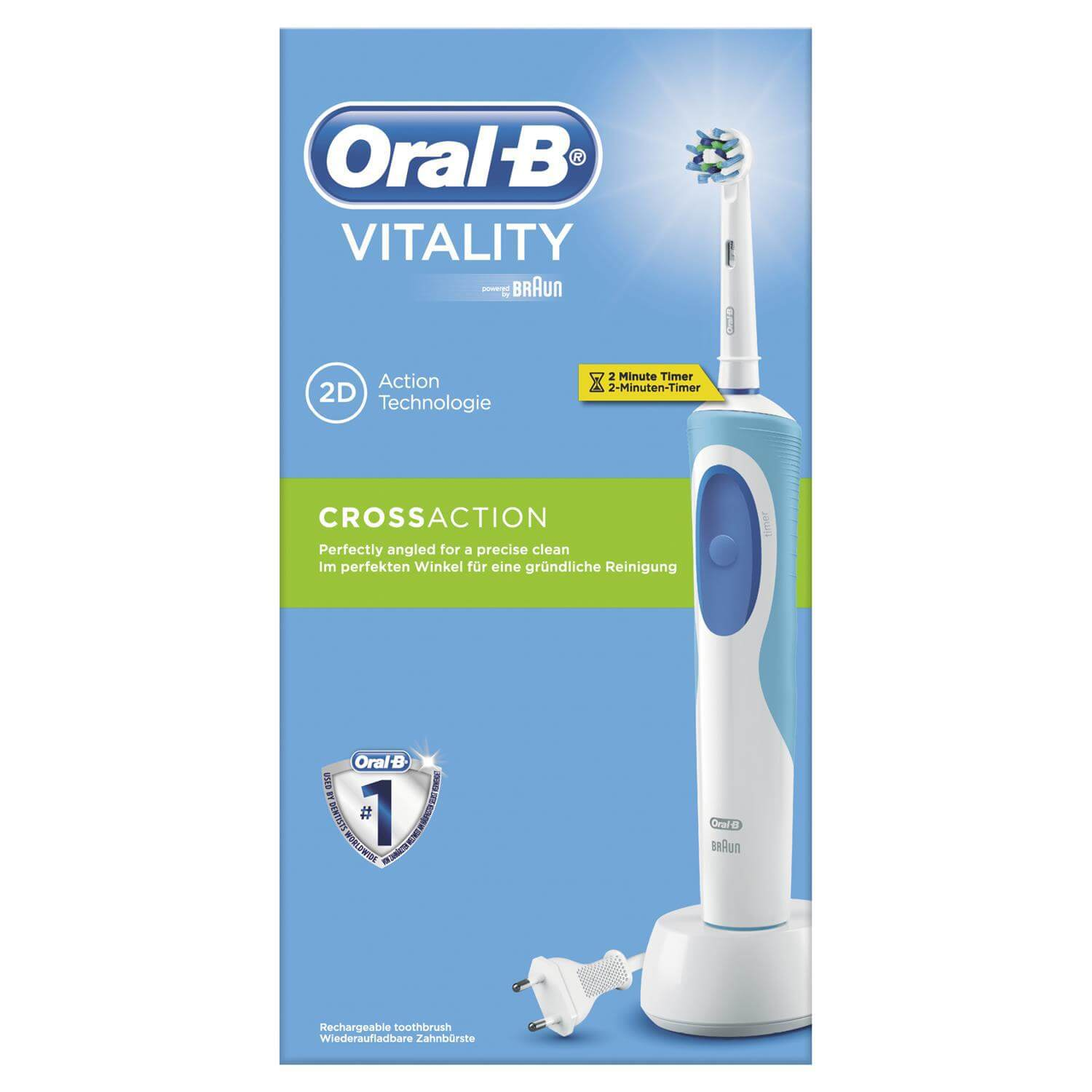 Oral-B Vitality Deluxe Επαναφορτιζόμενη Ηλεκτρική Οδοντόβουρτσα
