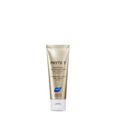 Phyto Phyto 7 Κρέμα Ημέρας Ενυδάτωσης & Λάμψης Με 7 Φυτά Ξηρά Μαλλιά 50ml υγιεινή   μαλλιά   μαλακτικά μάσκες ελιξίρια μαλλιών