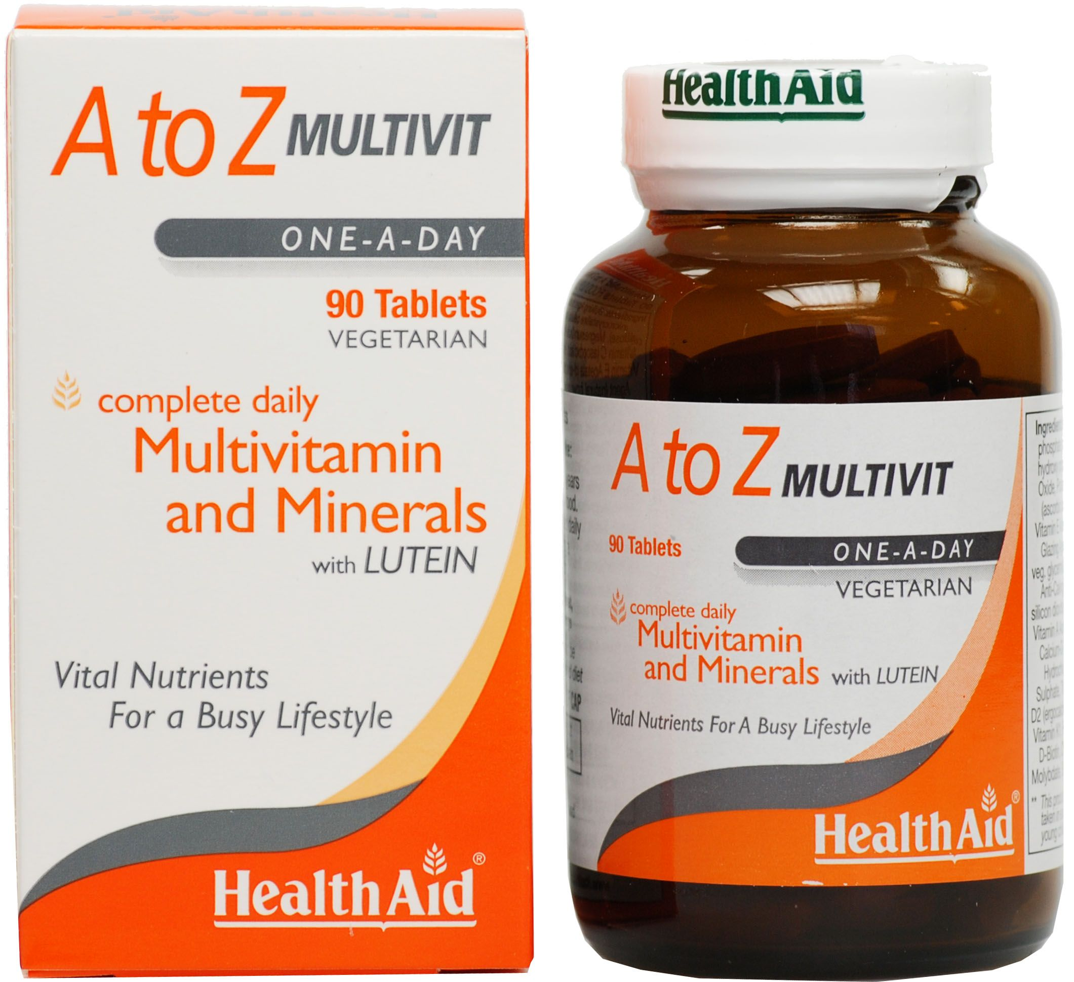 Health Aid A To Z Multivitamin Πολυβιταμίνη 90tabs