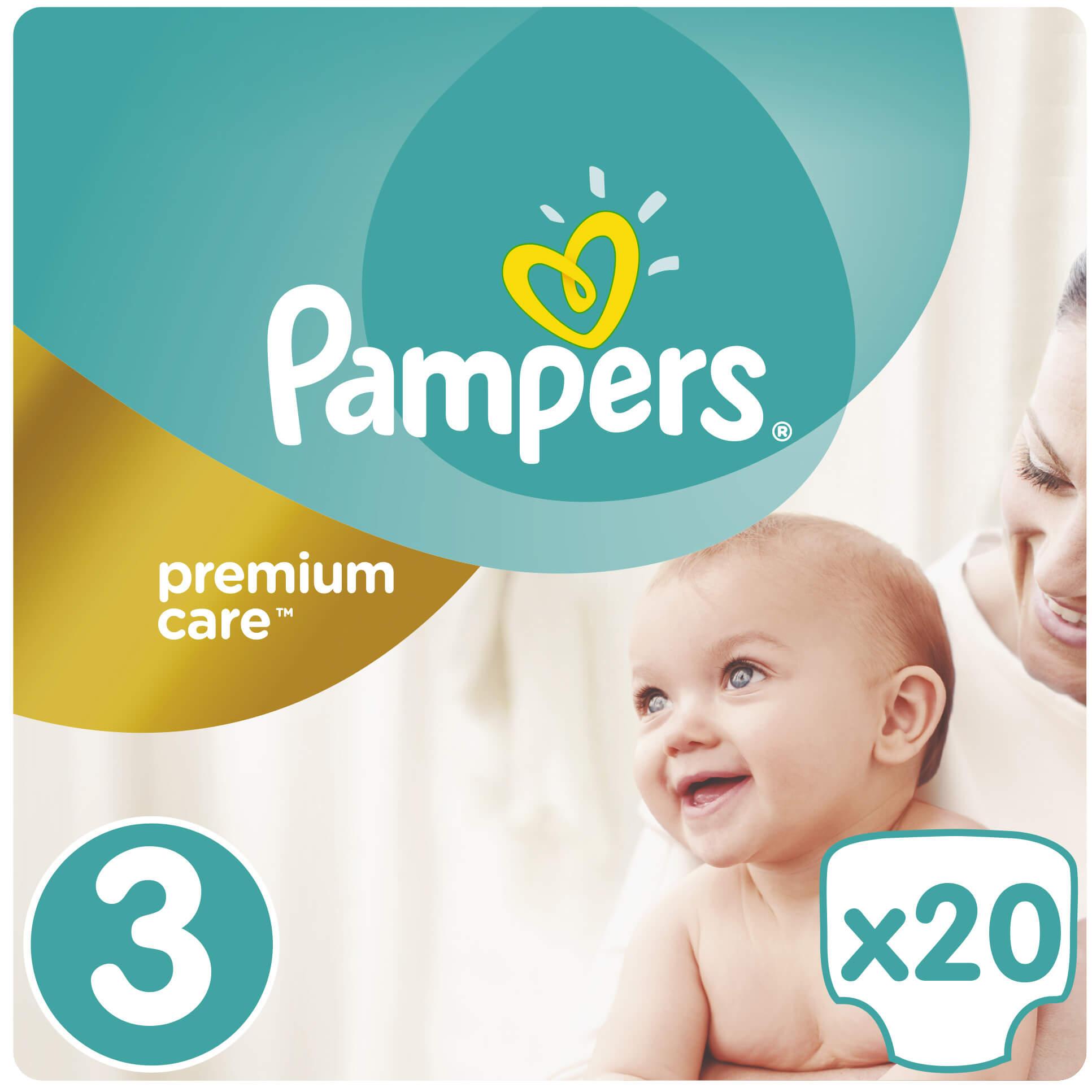 Pampers Premium Care No3 (5-9kg) 20 πάνες μητέρα παιδί   περιποίηση για το μωρό   πάνες για το μωρό