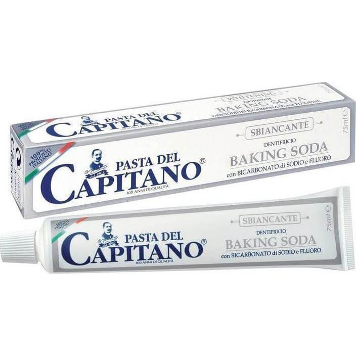 Pasta Del Capitano Baking Soda Λευκαντική Οδοντόκρεμα 75ml