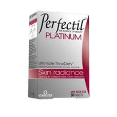 Vitabiotics Perfectil Platinum Συμβάλλει Στην Υγεία Και Την Καλή Κατάσταση Του Δέρματος 30tabs