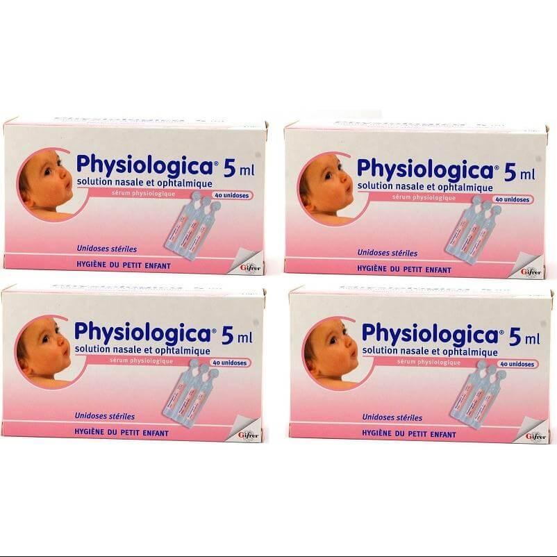 4 x Gifrer Physiologica 40x5ml