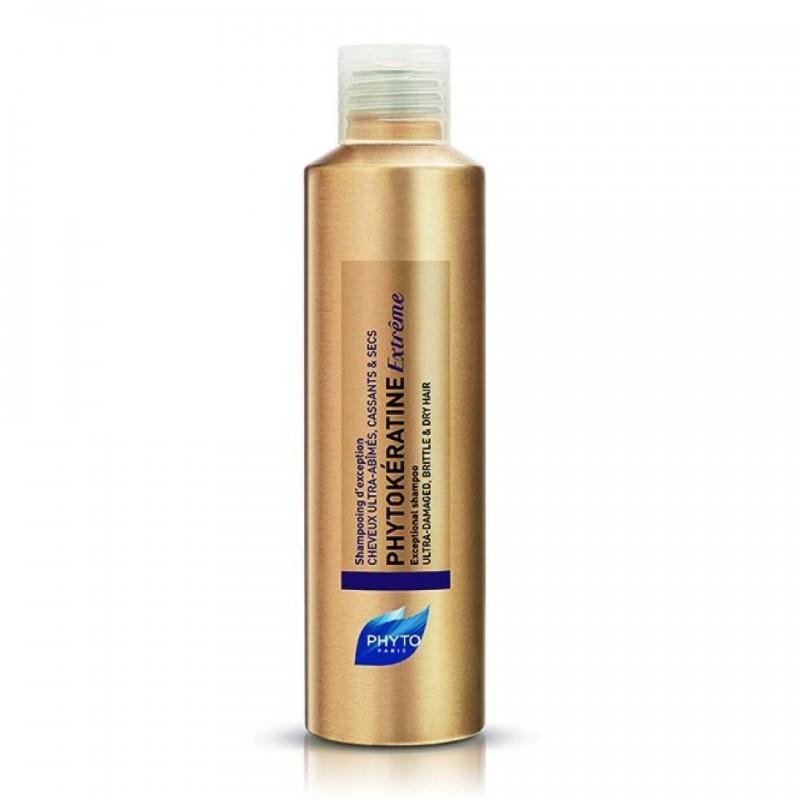 Phyto Phytokeratine Extreme Shampoo Θρεπτικό Ήπιο Σαμπουάν, Επανόρθωσης και Εντατικής Θρέψης 200ml