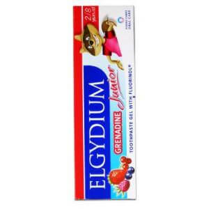 Elgydium Junior Οδοντόπαστα Grenadine Red Berries 50ml
