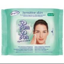 Pom Pon Sensitive Υγρά Μαντήλια Ντεμακιγιάζ 20 Τεμάχια