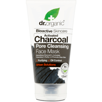 Dr.Organic Charcoal Face Mask Μάσκα Προσώπου με Ενεργό Άνθρακα 125ml