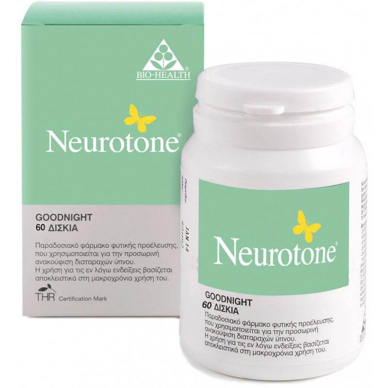 Power Health Neurotone Φυσικό Συμπλήρωμα Καταπολέμησης του Άγχους & της Νευρικότητας 60tabs
