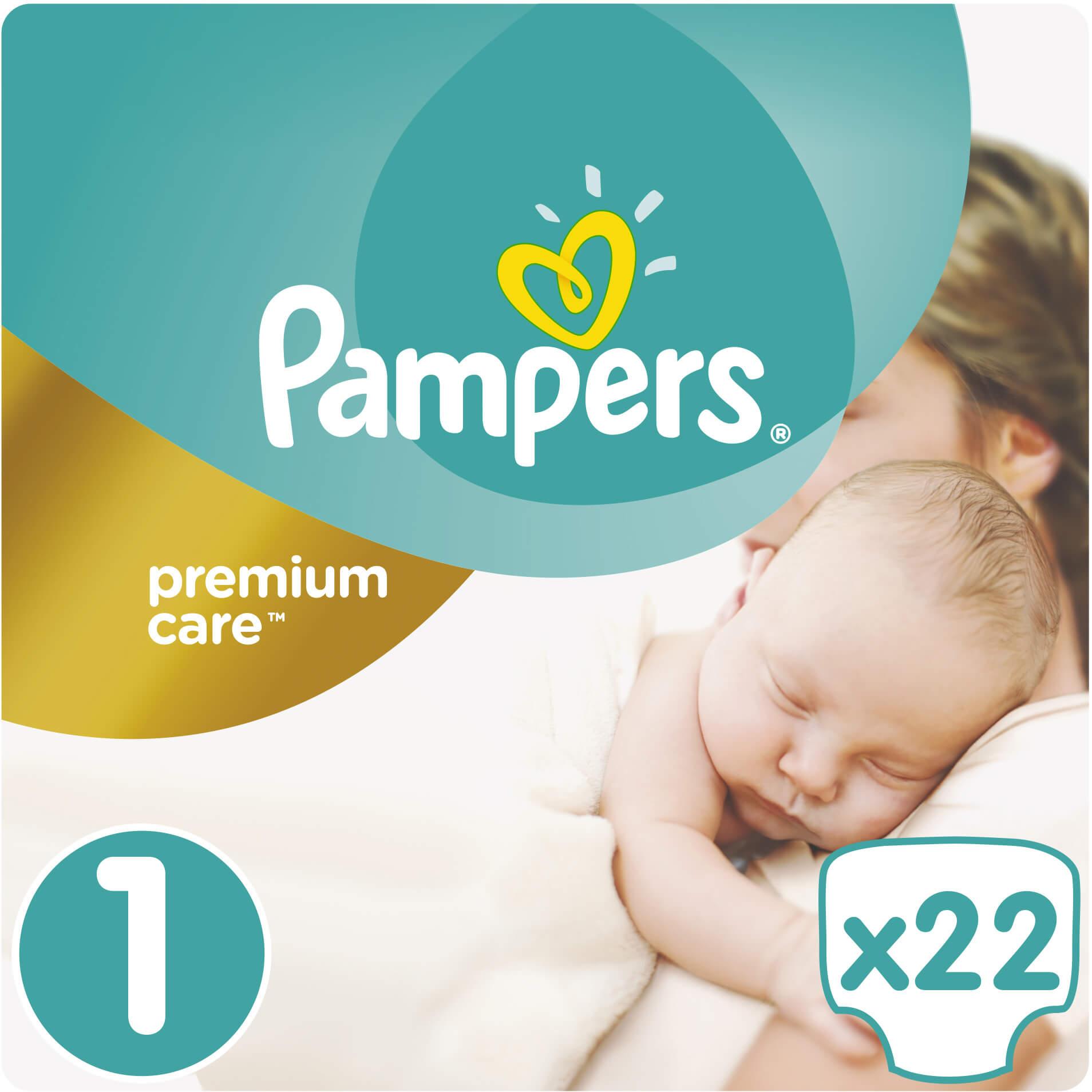 Pampers Premium Care No1 (2-5kg) 22 πάνες μητέρα παιδί   περιποίηση για το μωρό   πάνες για το μωρό