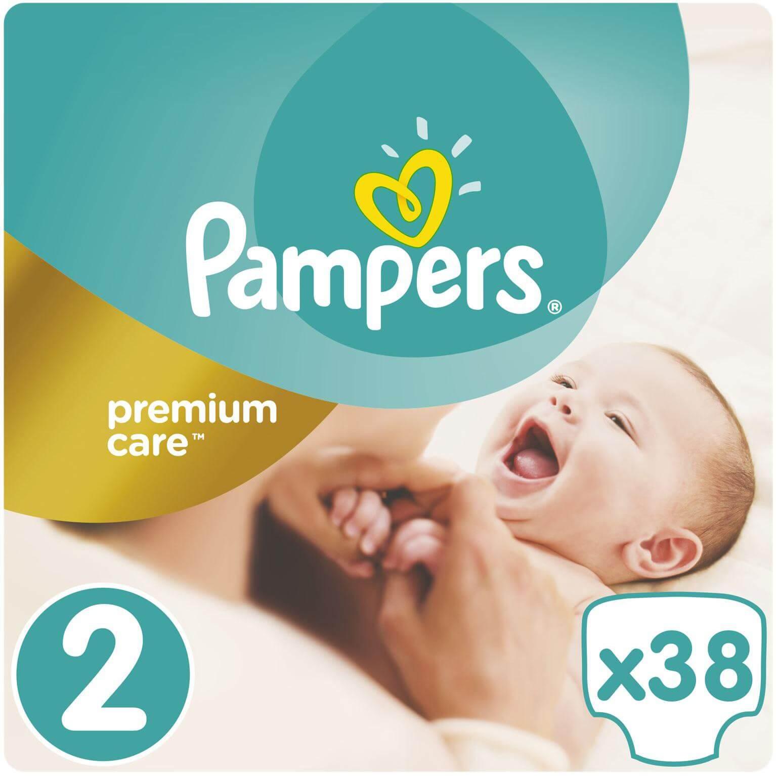Pampers Premium Care No2 (3-6kg) 38 πάνες μητέρα παιδί   περιποίηση για το μωρό   πάνες για το μωρό