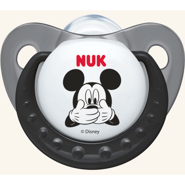 Nuk Trendline Disney Mickey Πιπίλα Σιλικόνης 0-6 Μηνών