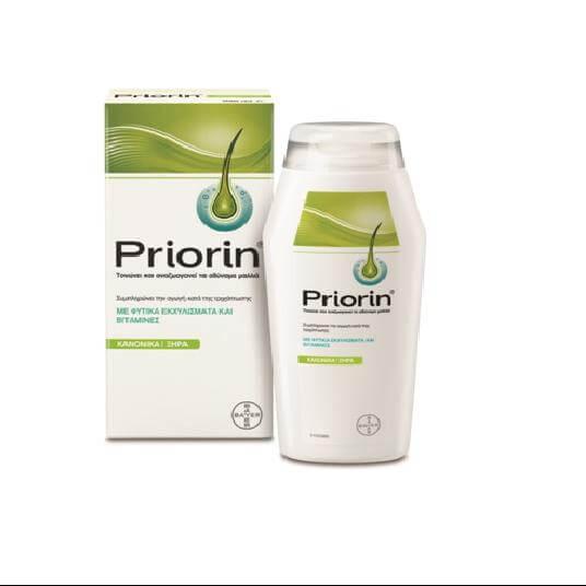 Priorin Σαμπουάν Για Την Τριχόπτωση Λιπαρά Μαλλιά 200ml
