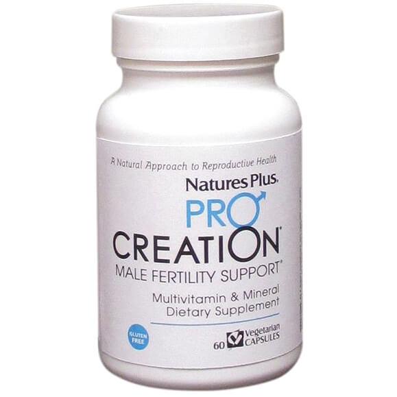 Natures Plus Pro Creation Male Fertility Support Συμπλήρωμα Διατροφής που Βοηθά την ΑύξησηΓονιμότητας των Ανδρών V.60caps