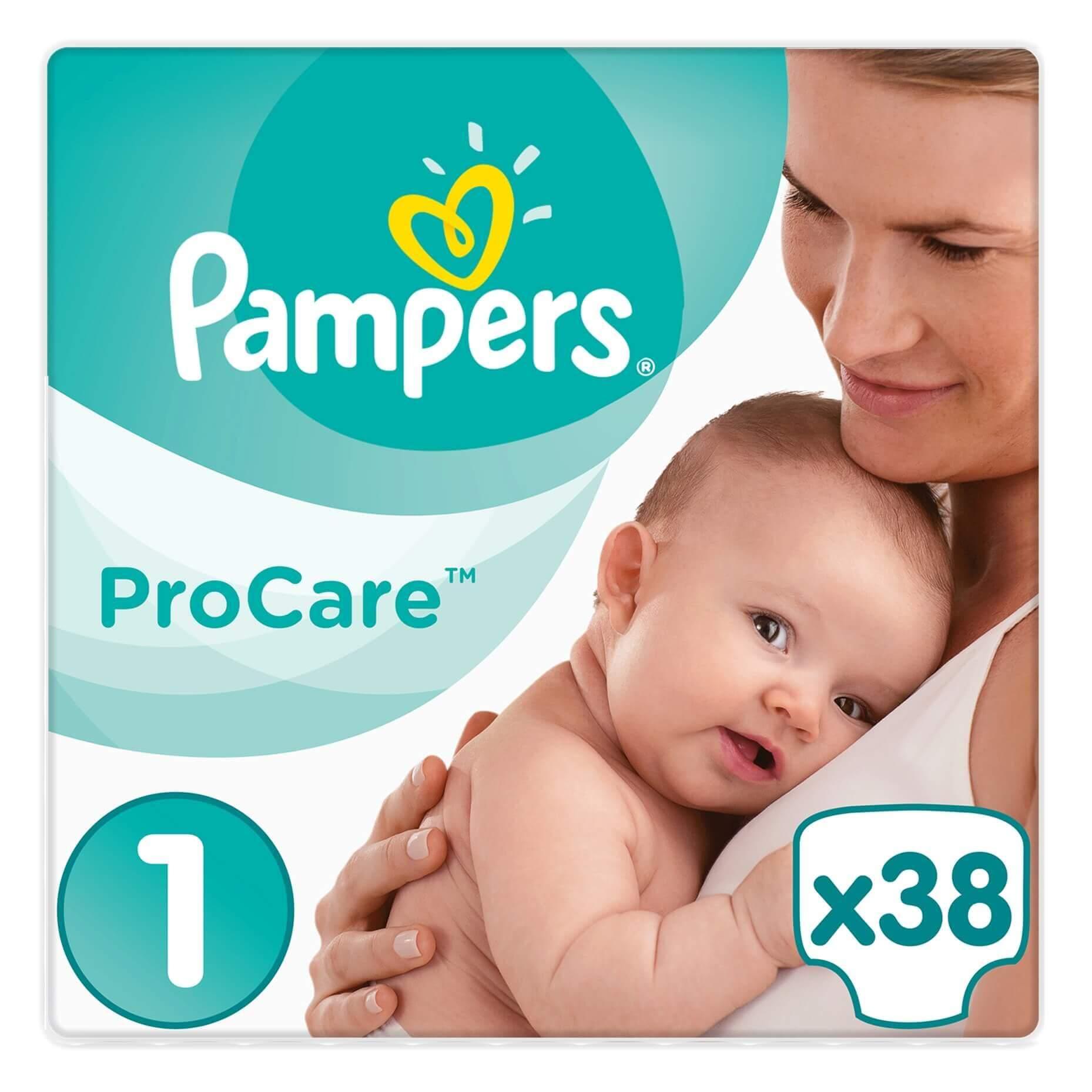 Pampers ProCare Premium Protection No1 (2-5kg) 38 πάνες 20314
