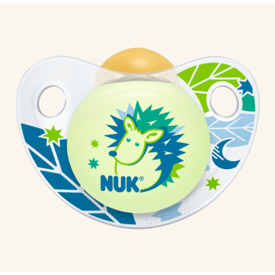 Nuk Trendline Night & Day Πιπίλα Καουτσούκ – Μέγεθος 1 (0-6 μηνών)