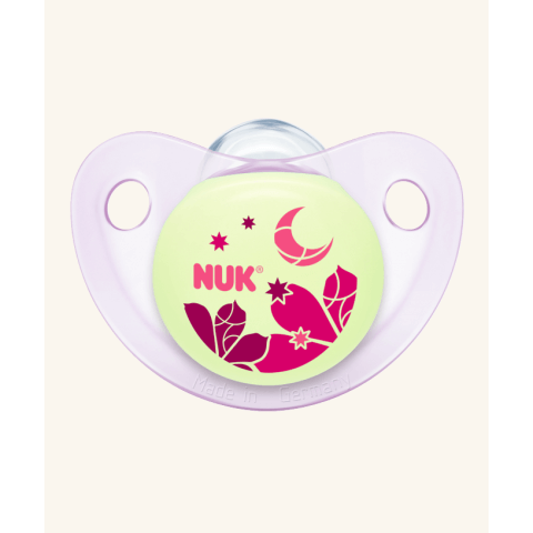 NUK Trendline Night & Day Πιπίλα Σιλικόνης Χωρίς Κρίκο – Μέγεθος 2 (6-18 μηνών)