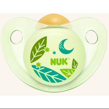 Nuk Trendline Night & Day Πιπίλα Καουτσούκ – Μέγεθος 2 (6-18 μηνών)