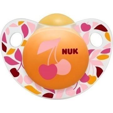 Nuk Trendline AdoreΠιπίλα ΚαουτσούκΧωρίς BPA – Μέγεθος 1 (0-6 μηνών)