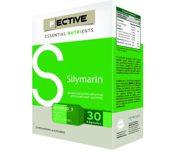 Fective Silymarin Για Αποτοξίνωση Με Ισχυρές Αντιοξειδωτικές Ιδιότητες 140mg 30caps