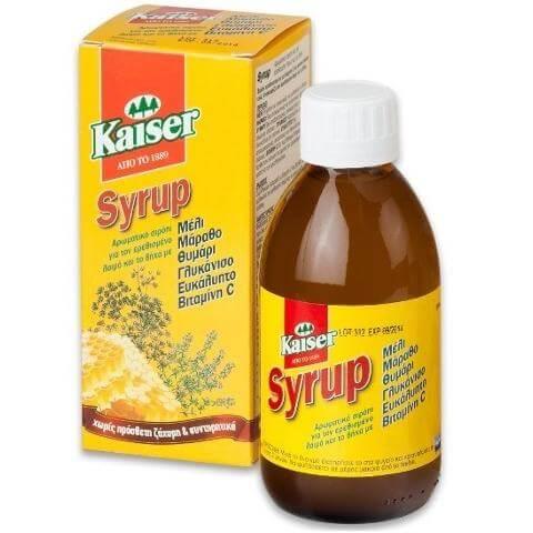 Kaiser Φυσικό Σιρόπι για το Βήχα 200ml