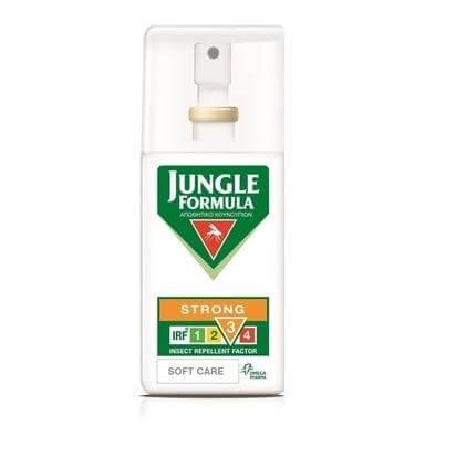 Jungle Formula Strong Soft Care με IRF 3 Απωθητικό σπρέι για κουνούπια χωρίς οινόπνευμα με καταπραϋντικά συστατικά 75ml