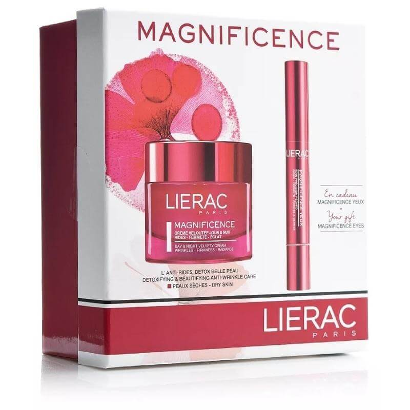 Lierac Magnificence Creme Veloutee Jour&nuit 50ml με Μοναδικό Δώρο Magnificence Yeux 4gr