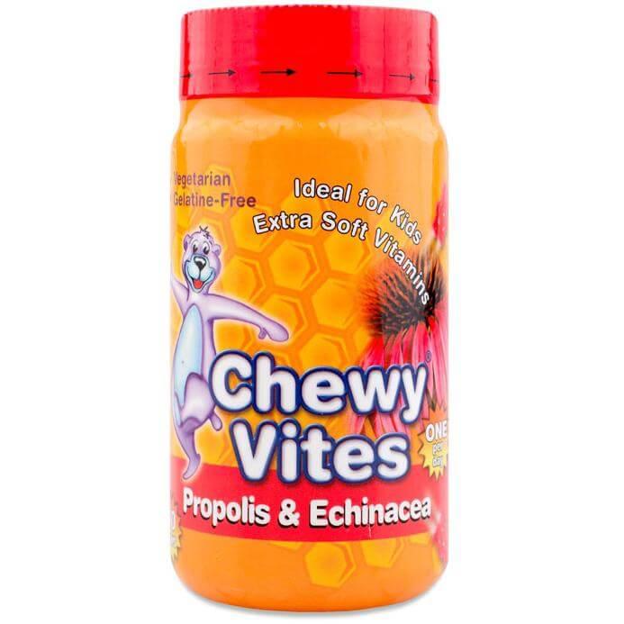 Chewy Vites Propolis & Echinacea Ζελεδάκια για Παιδιά, Γεύση & Ενέργεια στο Maximum 60Bears Chews