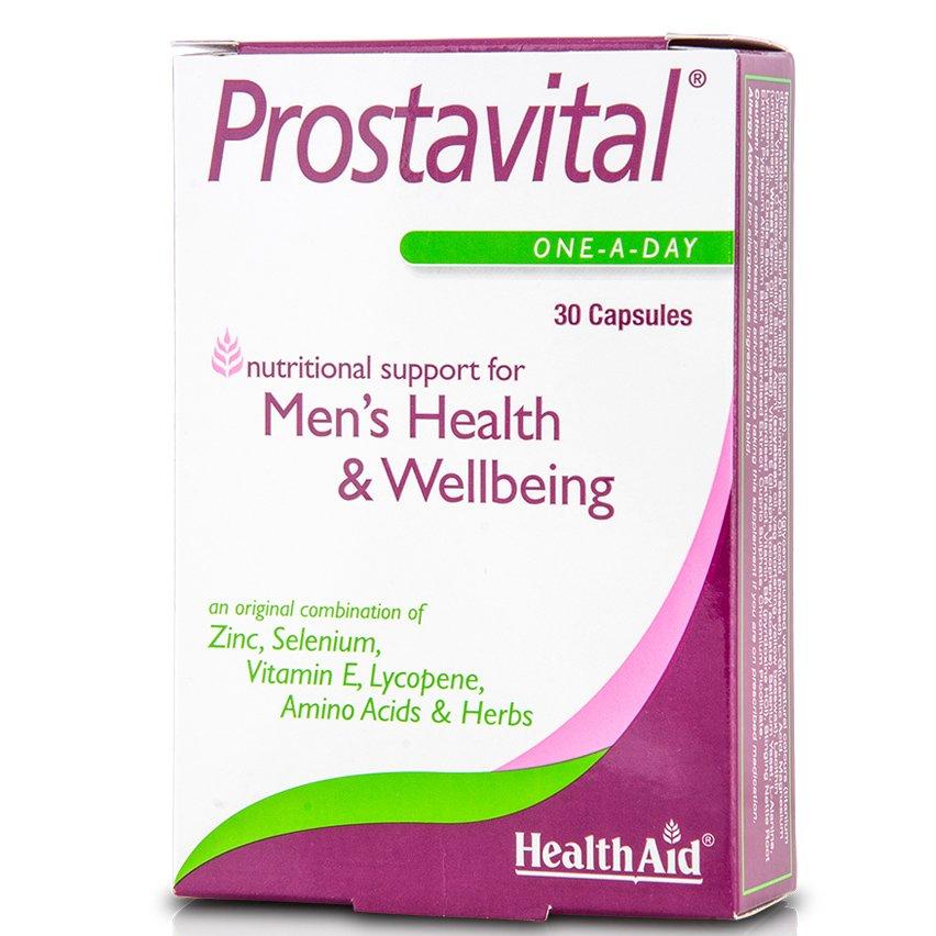 Health Aid Prostavital Διατήρηση Και Προστασία Της Καλής Κατάστασης Του Προστάτη 30tabs